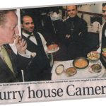 Prime minister dined in the Khas Tandoori London